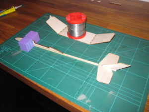 second wingtip and fuselage