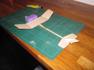 wing onto the fuselage